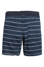Twill shorts - Dark blue/Striped - Kids | H&M 3
