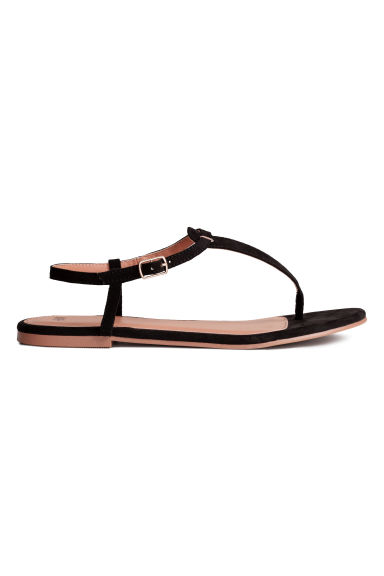 Sandali infradito - Nero - DONNA | H&M IT 1