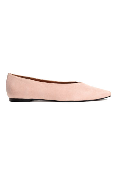 Pointed flats - Powder beige - Ladies | H&M 1