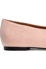 Pointed flats - Powder beige - Ladies | H&M 4