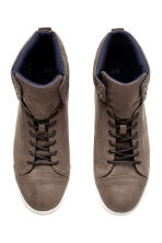 Hi-top trainers - Dark mole - Men | H&M 2