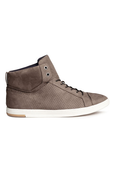 Hi-top trainers - Dark mole - Men | H&M 1