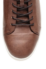 Baskets montantes - Marron - HOMME | H&M FR 3