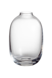 Mini vase in clear glass