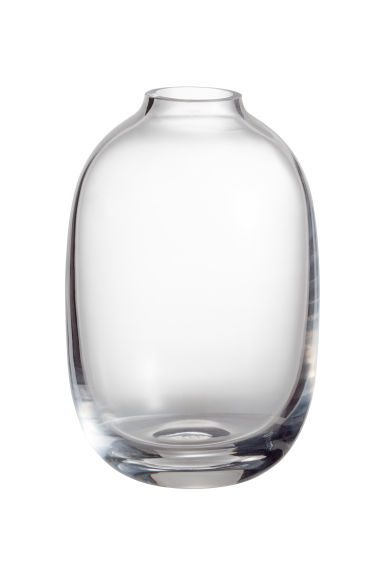 Mini vase en verre transparent - Verre transparent - Home All | H&M FR 1