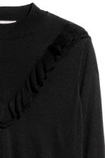 H&M+ Fine-knit jumper - Black - Ladies | H&M CN 3