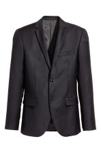Wool jacket Skinny fit - Black - Men | H&M 2