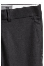 Wool suit trousers Skinny fit - Black - Men | H&M CN 4