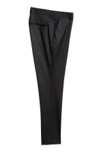 Wool suit trousers Skinny fit - Black - Men | H&M CN 3