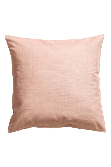 Copricuscino in cotone flammé - Rosa nebbia - HOME | H&M IT 1