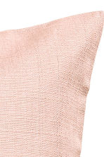 Copricuscino in cotone flammé - Rosa nebbia - HOME | H&M IT 3