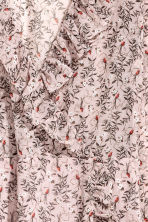 荷葉邊裹身式洋裝 - Powder pink/Pattern - Ladies | H&M 3