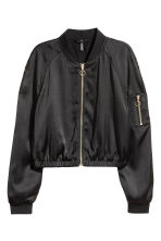 Short bomber jacket - Black - Ladies | H&M CN 2