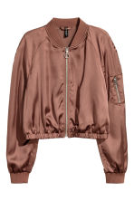 Short bomber jacket - Bronze - Ladies | H&M CN 2