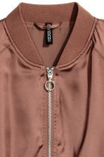 Short bomber jacket - Bronze - Ladies | H&M CN 3