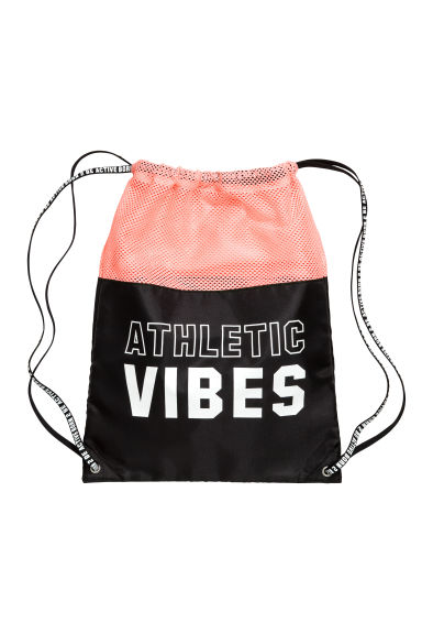Gym bag - Apricot/Black -  | H&M 1