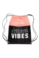 Gym bag - Apricot/Black - Kids | H&M CN 1