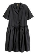 Cotton dress - Black - Ladies | H&M CN 2