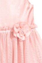 Tulle dress - Light pink - Kids | H&M CN 4