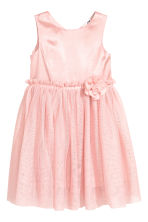 Tulle dress - Light pink - Kids | H&M CN 2