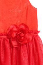 Tulle dress - Red - Kids | H&M CN 4