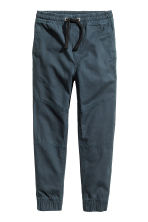 Generous fit Pull-on trousers - Dark blue - Kids | H&M 1