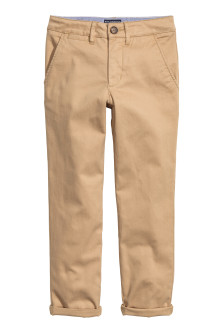 Generous fit Chinos