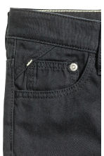 Generous fit Twill trousers - Black -  | H&M 3