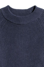 Knitted jumper - Dark blue - Ladies | H&M 3