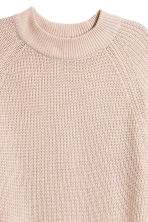 Knitted jumper - Light beige - Ladies | H&M GB 3