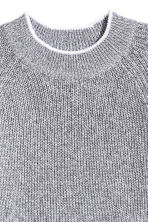 Knitted jumper - Grey marl - Ladies | H&M 3