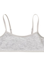2-pack crop tops - Grey marl - Kids | H&M CN 3