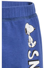 Jersey trousers - Cornflower blue/Snoopy - Kids | H&M CN 2