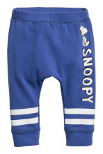 Jersey trousers - Cornflower blue/Snoopy - Kids | H&M CN 1