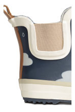 Patterned wellingtons - Dark blue/Cloud - Kids | H&M 3