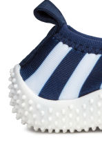 Water shoes - Dark blue/Striped -  | H&M 4