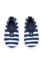 Water shoes - Dark blue/Striped -  | H&M 2