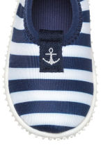 Scarpette da mare - Blu scuro/righe -  | H&M IT 3