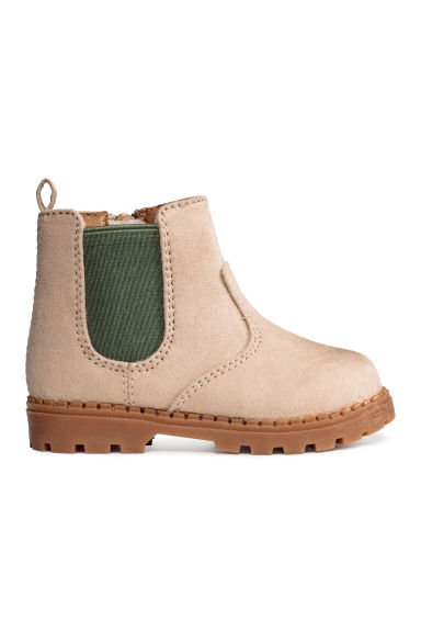 Chelsea boots - Light beige - Kids | H&M 1