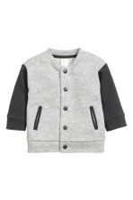 Giubbotto in felpa - Light grey marl - BAMBINO | H&M IT 1