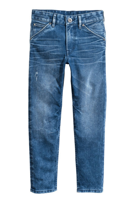 Relaxed Tapered Jeans
