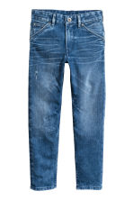 Relaxed Tapered Jeans - Denim blue - Kids | H&M 2