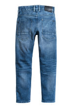 Relaxed Tapered Jeans - Denim blue - Kids | H&M 3