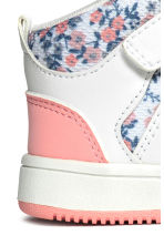 Trainers - White/Floral - Kids | H&M 4