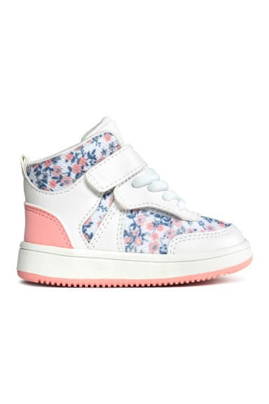 Trainers - White/Floral - Kids | H&M 1