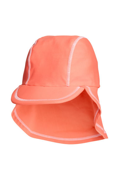 Cap with UPF 50 - Apricot - Kids | H&M