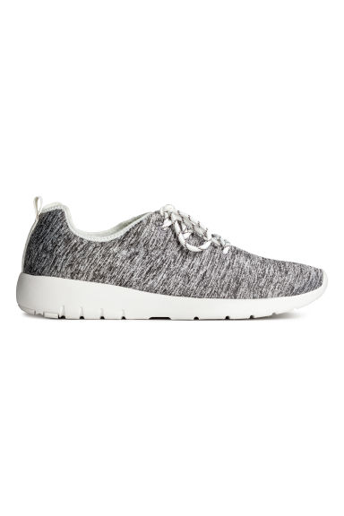 Mesh trainers - Grey marl - Men | H&M CN 1