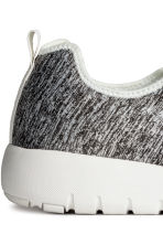Mesh trainers - Grey marl - Men | H&M CN 4