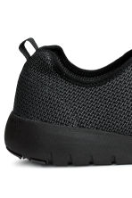 Mesh trainers - Black marl - Men | H&M 4