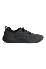Mesh trainers - Black marl - Men | H&M 1